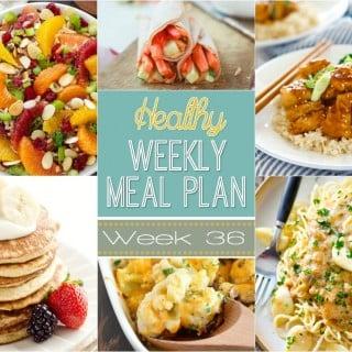 Healthy Weekly Meal Plan #36