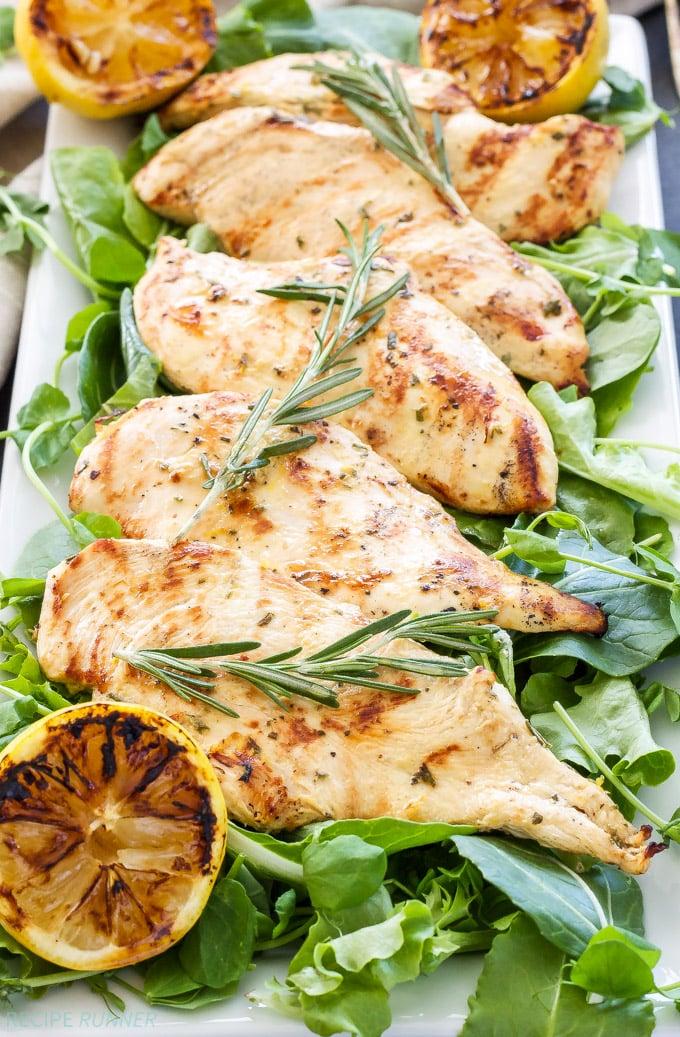 Lemon Rosemary Grilled Chicken - Recipe Runner