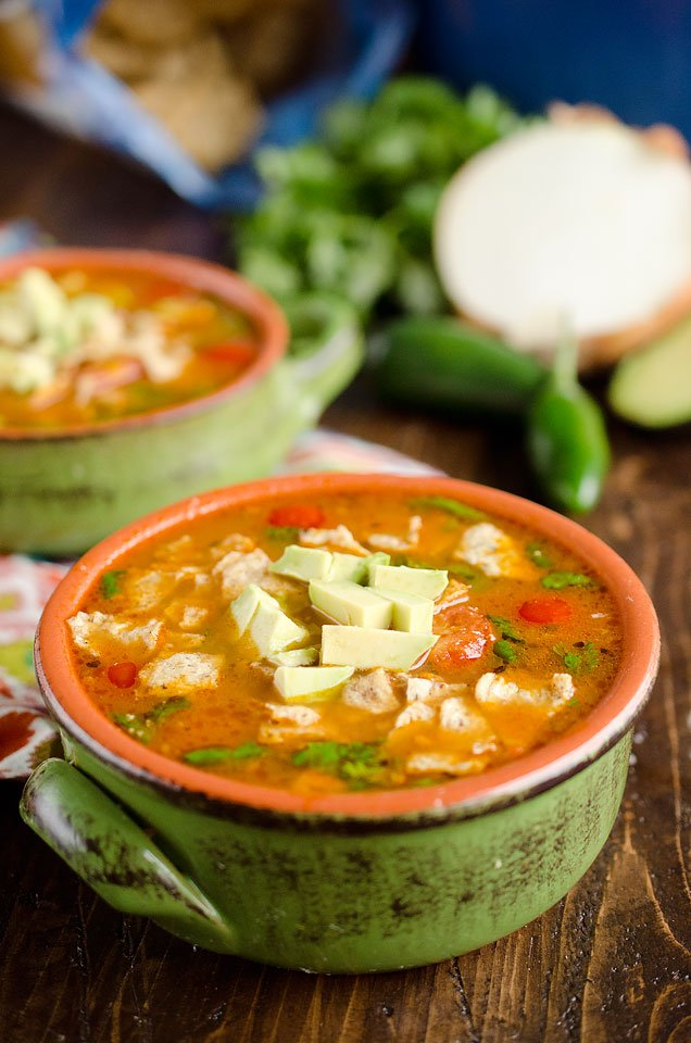Light Taco Soup
