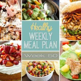 Healthy Weekly Meal Plan #50