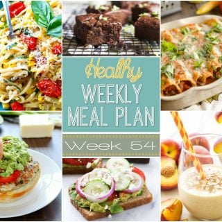 Healthy Weekly Meal Plan #54