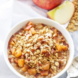 Apple Crisp Steel-Cut Oatmeal