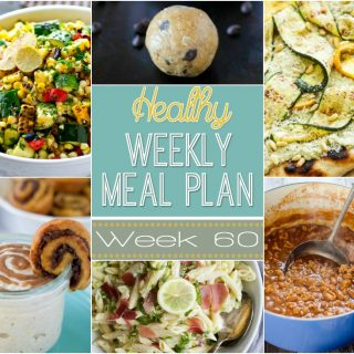 Healthy Weekly Meal Plan #60
