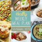Healthy Weekly Meal Plan #64