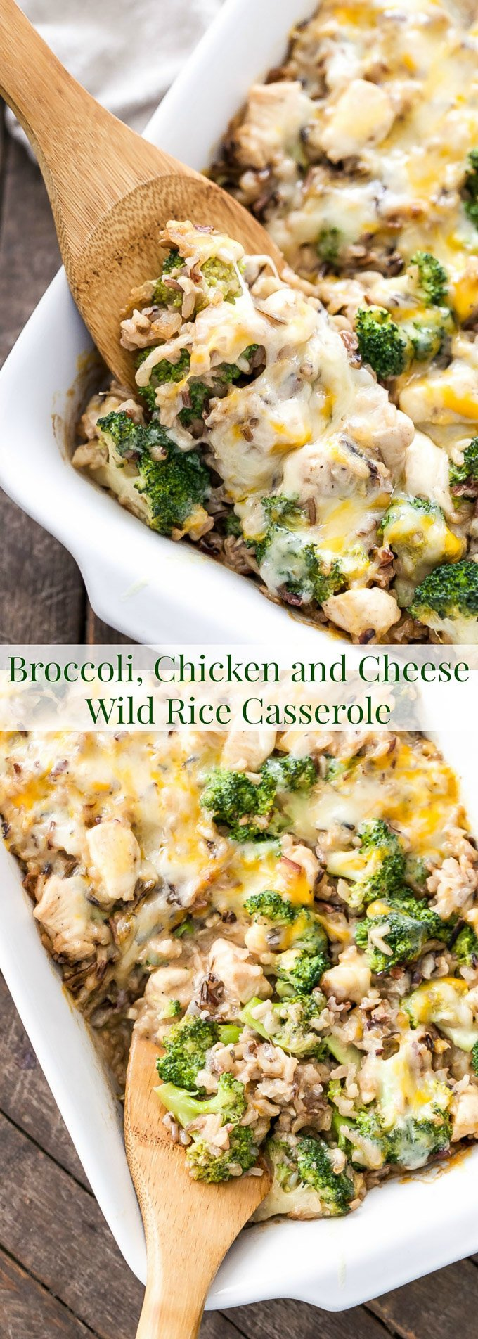 Click Here For The Broccoli Chicken And Cheese Wild Rice Casserole