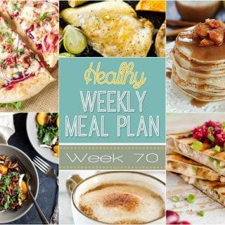 Healthy Weekly Meal Plan #70