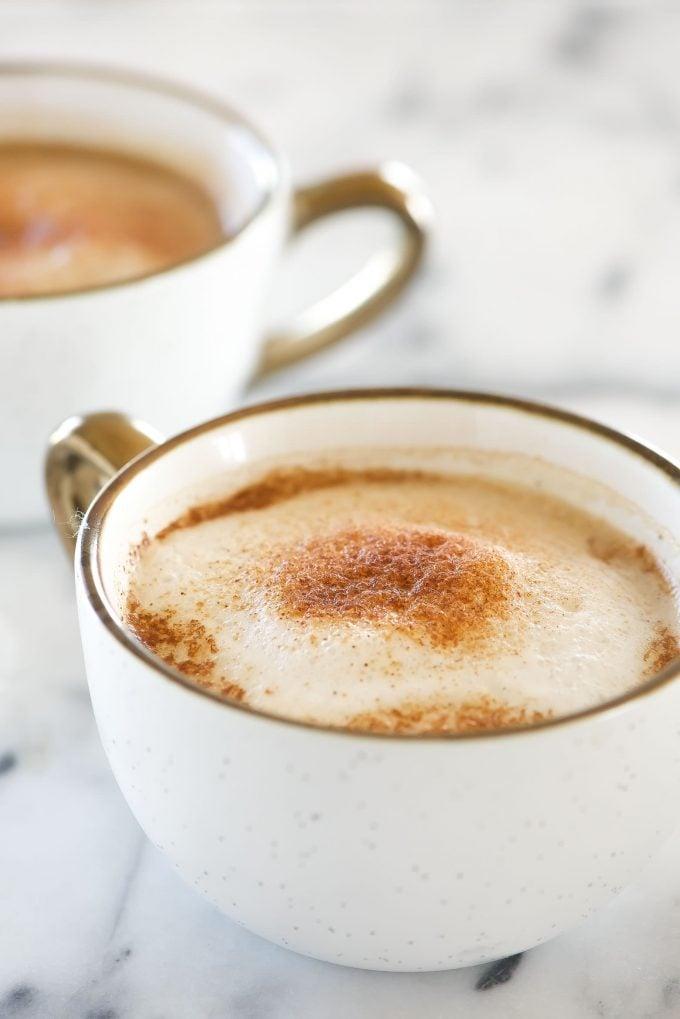 homemade cinnamon dolce latte
