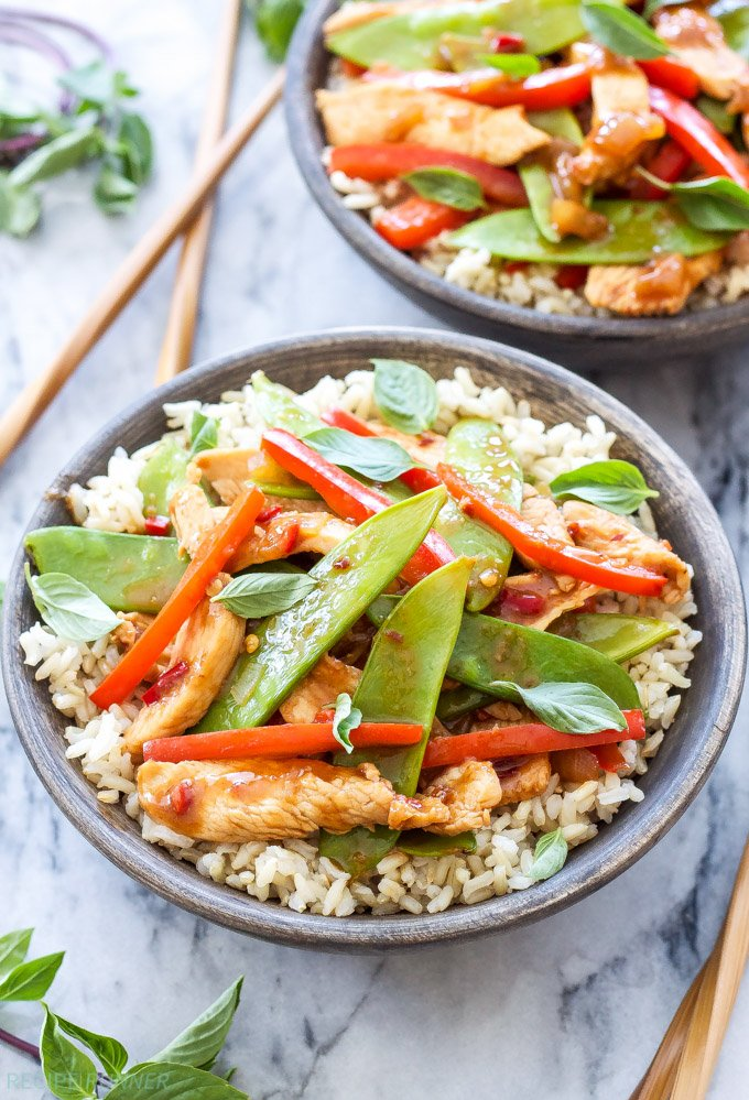Thai Chicken Stir Fry Recipe Runner