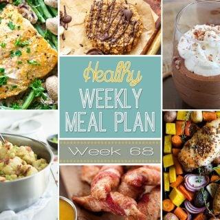Healthy Weekly Meal Plan #68