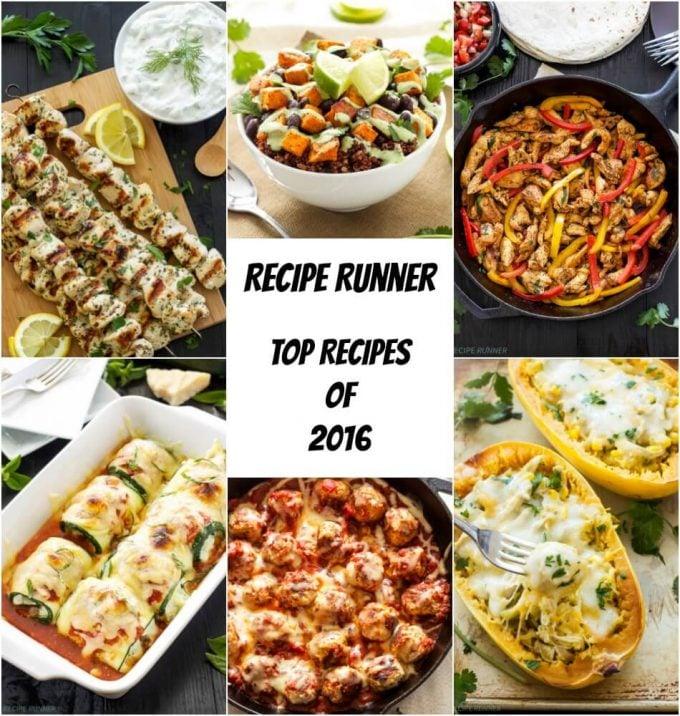Recipe Runner Top 10 Recipes of 2016