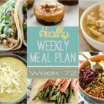 Healthy Weekly Meal Plan #72