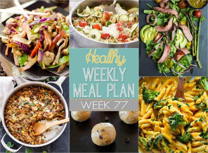 Healthy Weekly Meal Plan #78