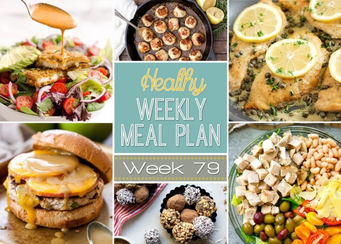 Healthy Weekly Meal Plan #79