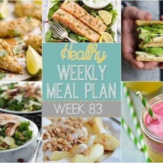 Healthy Weekly Meal Plan #83