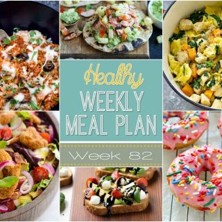 Healthy Weekly Meal Plan #82