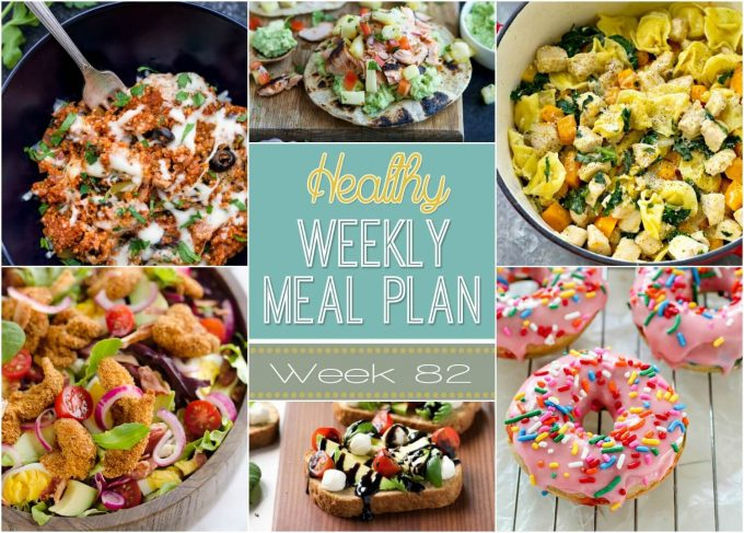 Healthy Weekly Meal Plan #82