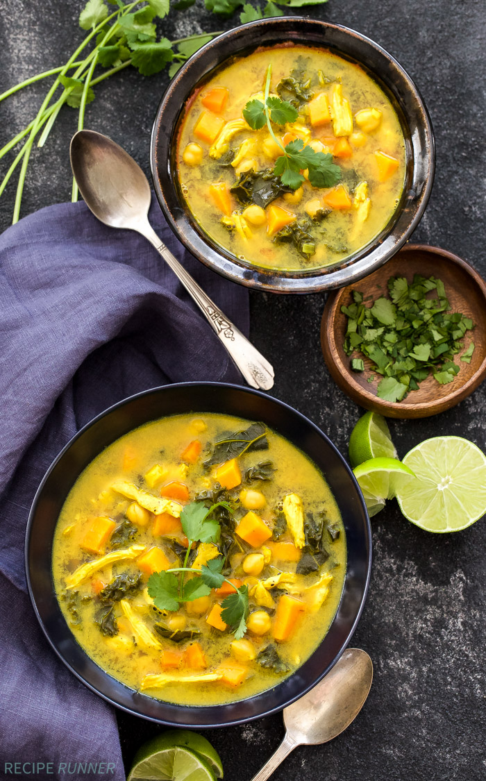 turmeric chicken chickpea and vegetable soup   recipe runner