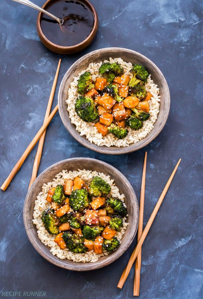 Sheet Pan Crispy Teriyaki Tofu And Broccoli Recipe Runner
