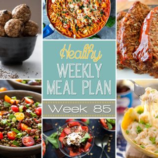 Healthy Weekly Meal Plan #85