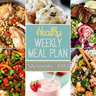 Healthy Weekly Meal Plan #86