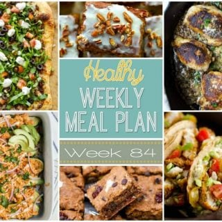 Healthy Weekly Meal Plan #84