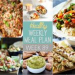 Healthy Weekly Meal Plan #89