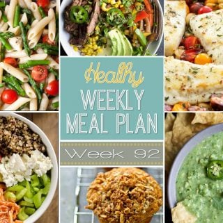 Healthy Weekly Meal Plan #92