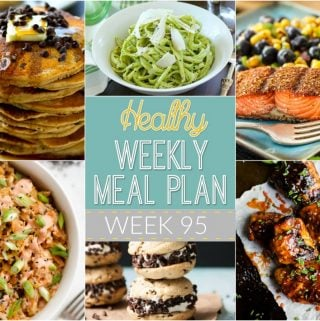 Healthy Weekly Meal Plan #95