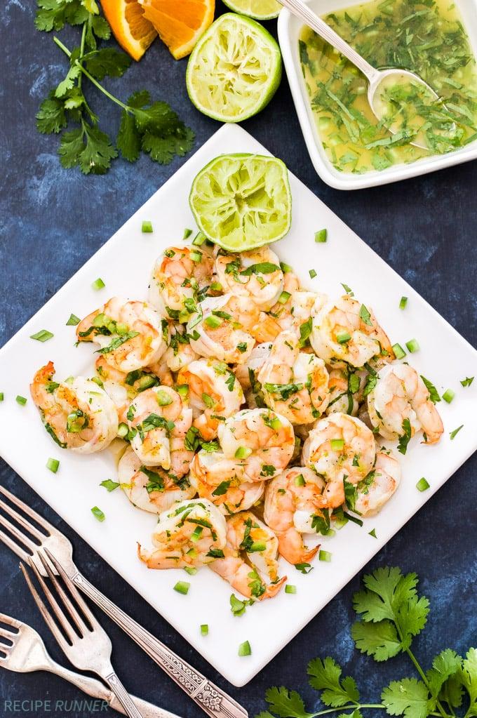Grilled Shrimp With Citrus Marinade Recipe Runner