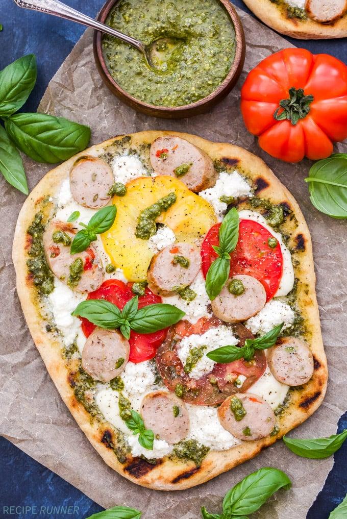 recipe: pesto pizza recipe [33]