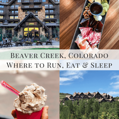 Beaver Creek, Colorado. Where to sleep, eat and run!
