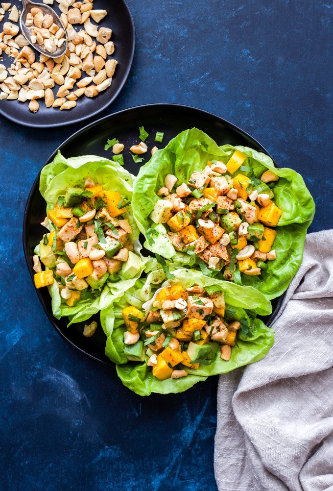 Asian lettuce wraps have won