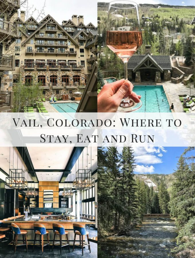 Vail, Colorado: Where to Stay, Eat and Run. #vail #colorado #travel #vacation #resort #restaurant #trails #running