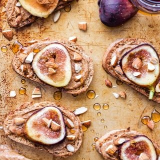 Fig and Almond Butter Toast