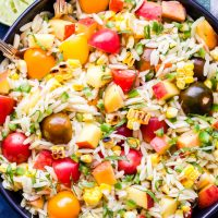 Summer Vegetable Orzo Salad