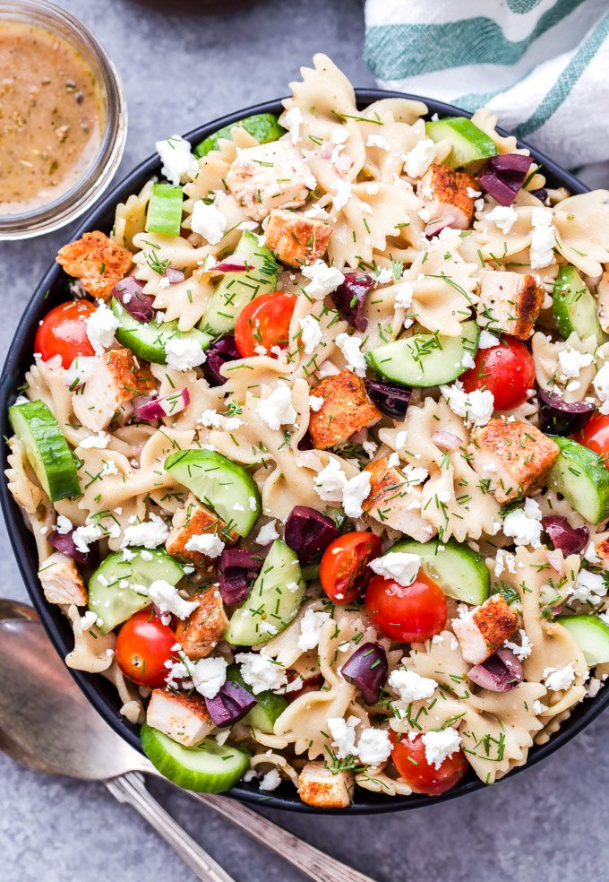 Greek En Pasta Salad Is A Delicious And Healthy Main Dish That S Great Any