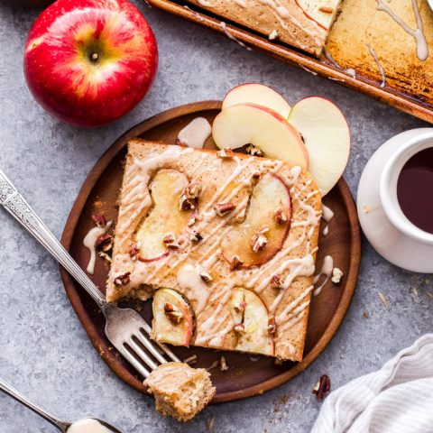 Apple Spice Sheet Pan Pancakes