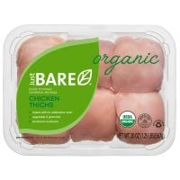 Just BARE Organic Boneless Skinless Chicken Thighs