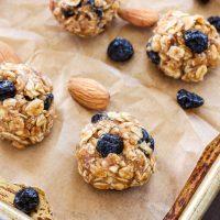 Blueberry Almond Energy Bites