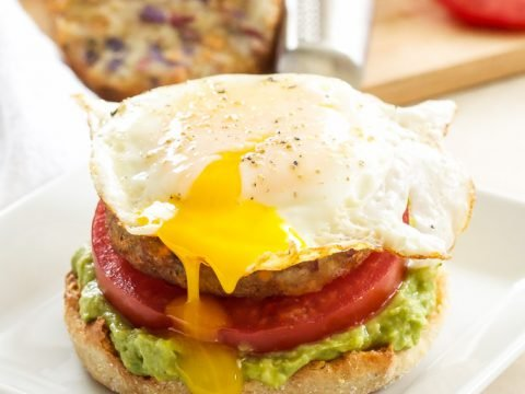 Open Faced Egg Avocado And Hash Brown Breakfast Sandwiches Recipe Runner