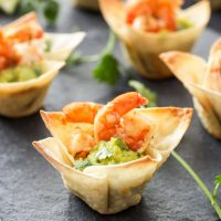 Tequila Lime Shrimp Taco Bites