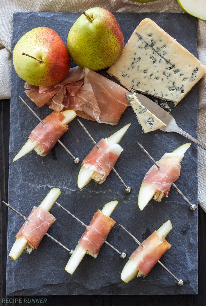 Prosciutto Wrapped Pears With Blue Cheese Recipe Runner