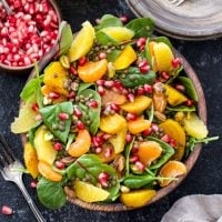 Roasted Golden Beet, Citrus, Lentil Salad