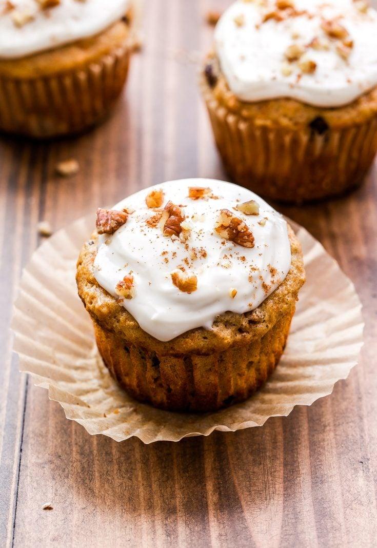 Carrot Cake Muffins Recipe Runner
