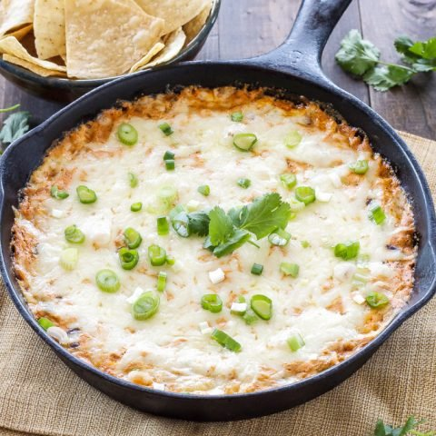 Skinny Red Enchilada Dip