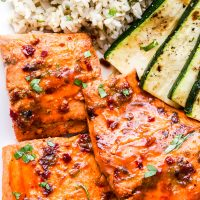 Chipotle Maple Grilled Salmon
