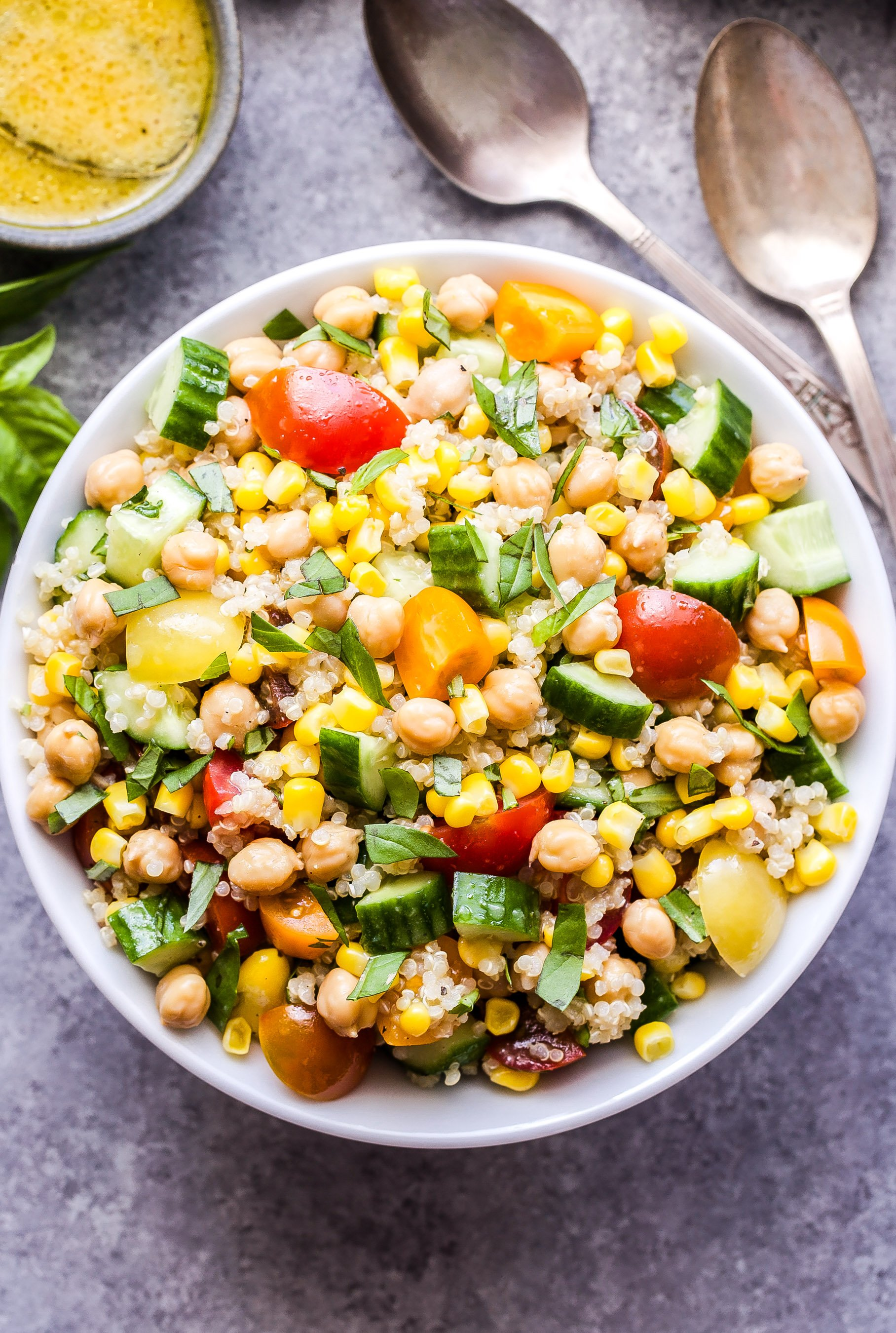 Summer Quinoa Salad Recipe Runner