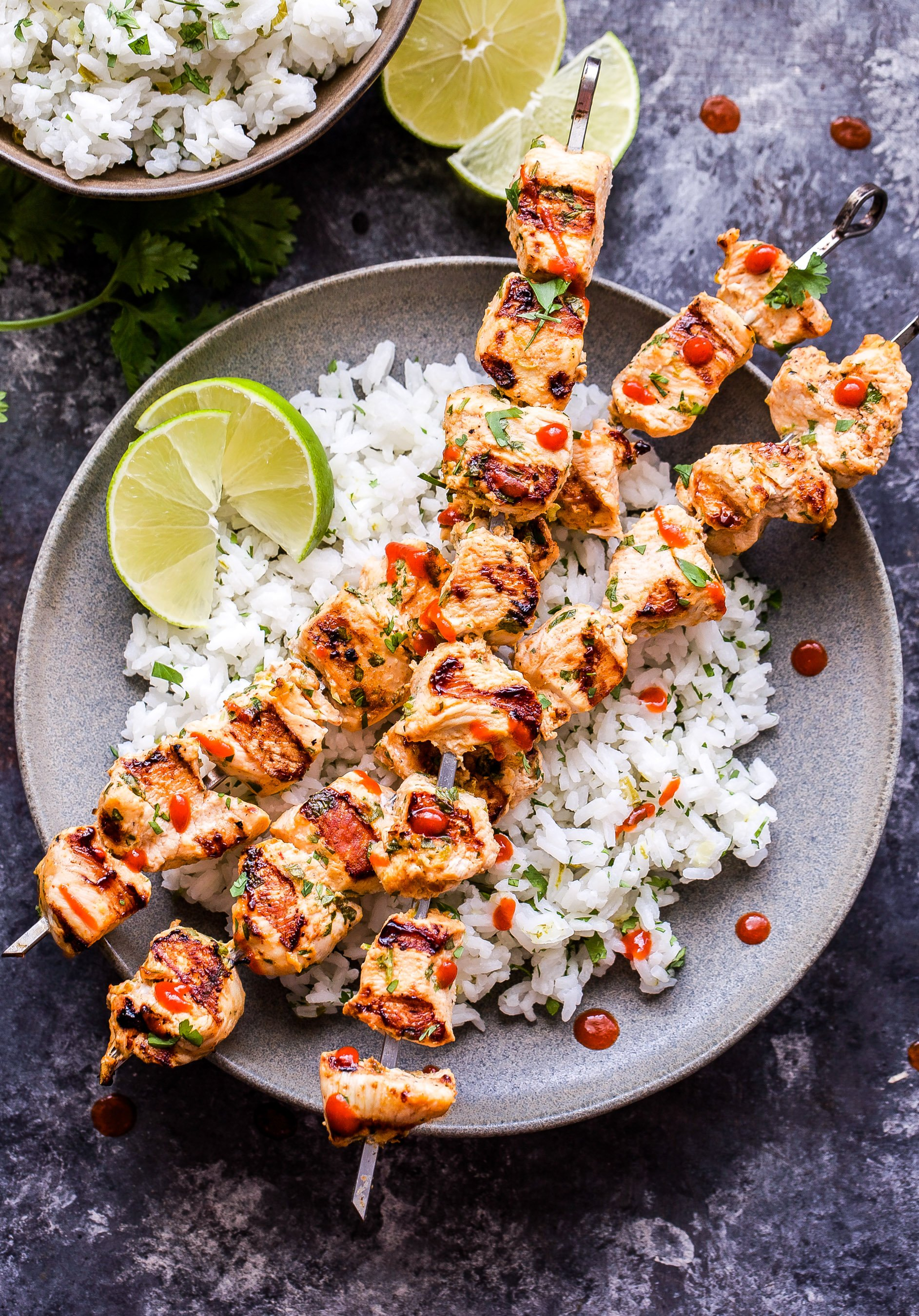 Coconut Lime Chicken Skewers Recipe Runner