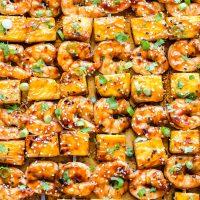 Teriyaki Shrimp and Pineapple Skewers