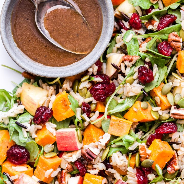 Sweet Potato, Wild Rice and Arugula Salad